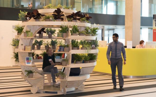 Voorbeeld van een groene werkplek