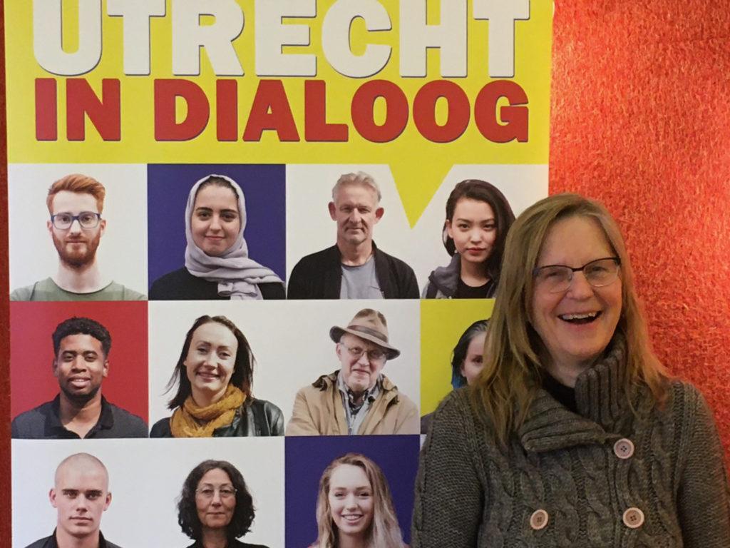 Wilma de Buck, oprichter van Utrecht in Dialoog